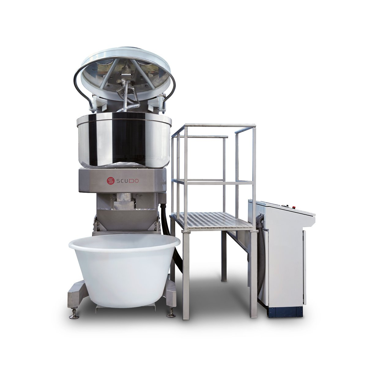 Spiral Mixers with Bottom Discharge
