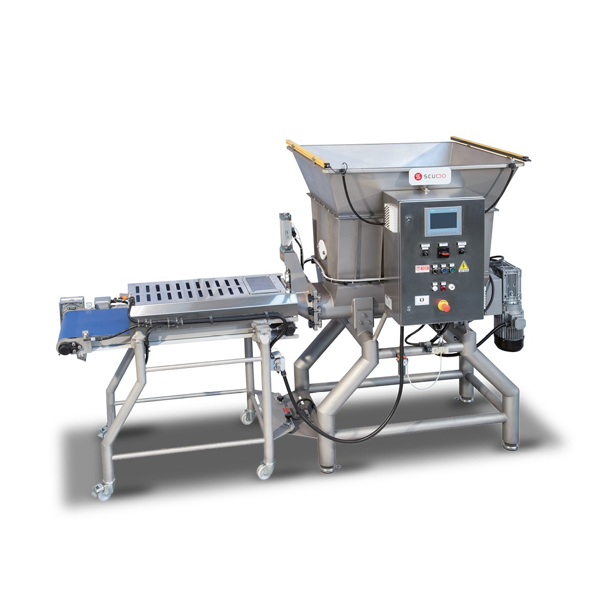 Double Screw Feeding System