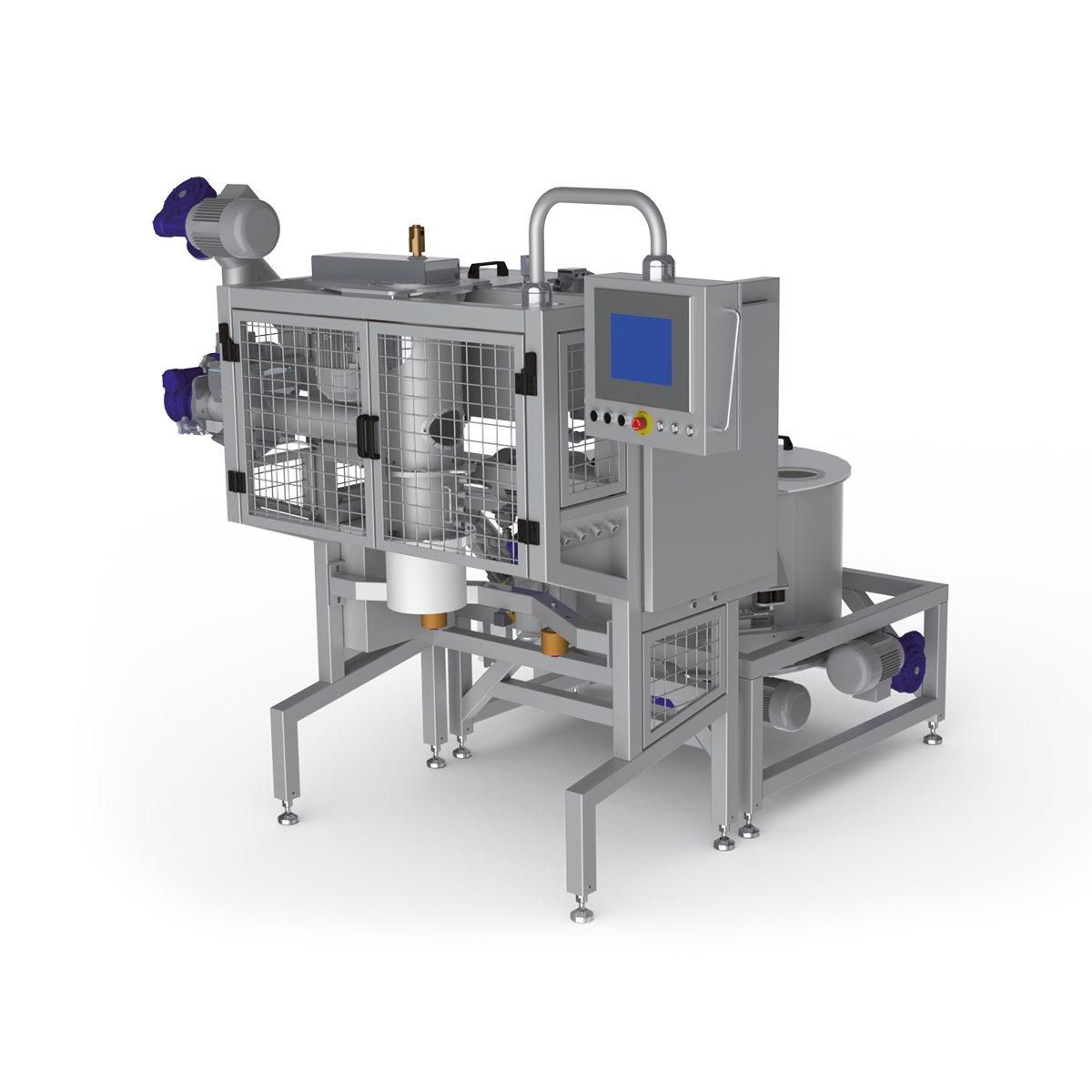 Idromix pre-mixing system