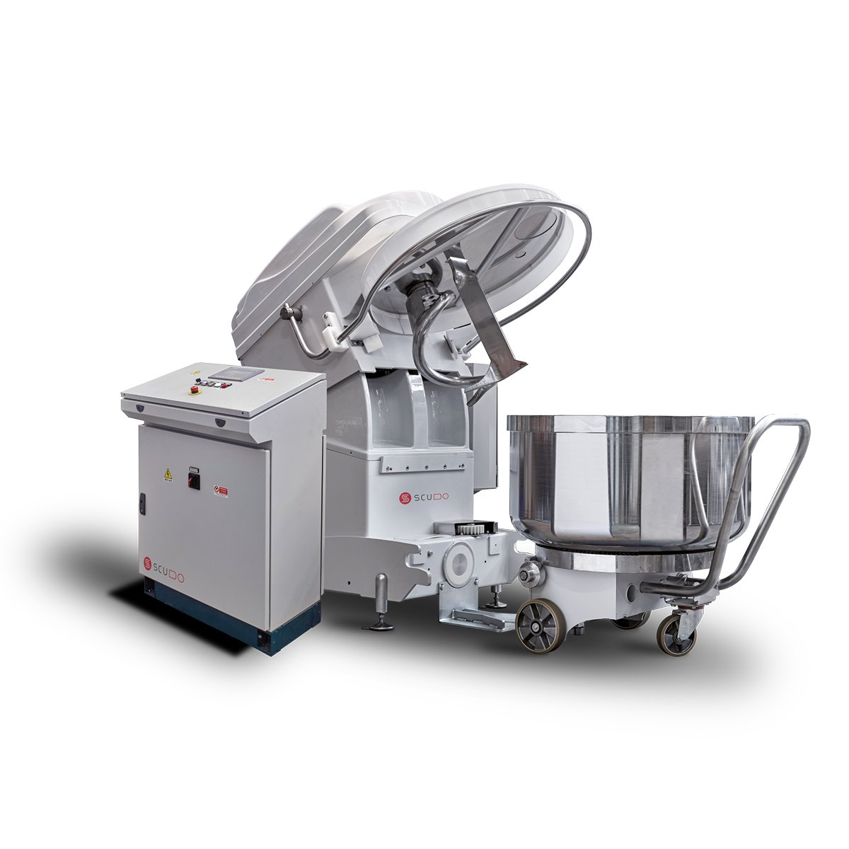 Single Spiral Mixer with Removable Bowl